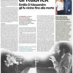 L'autista di Kubrick - Alberto Crespi - L'Unità 02.10.2012