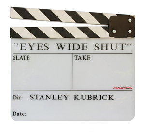 Eyes Wide Shut clapperboard