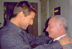 Emilio D'Alessandro and Tom Cruise