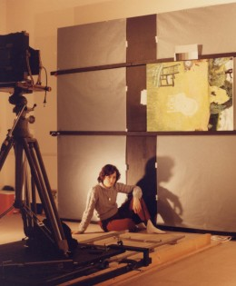 Fotografare i quadri di Christiane Kubrick